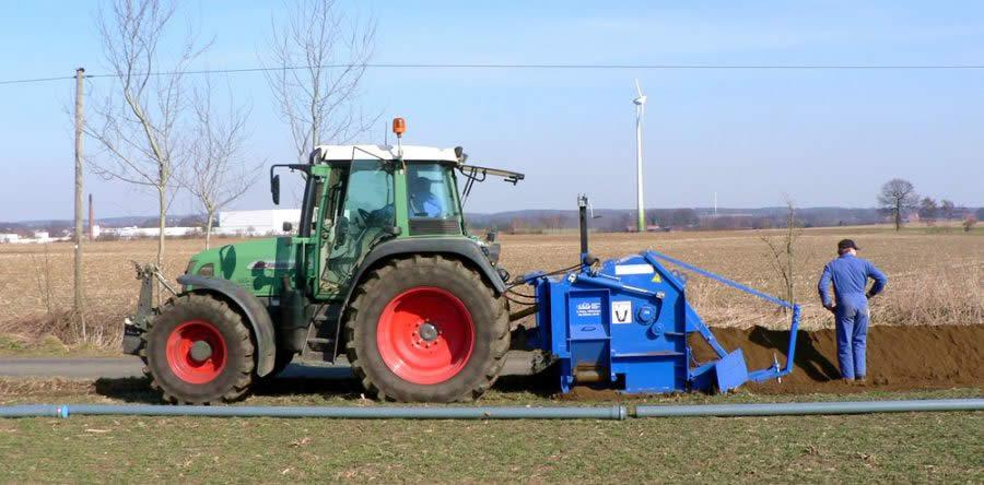 Außergewöhnlich GM 140 AF - LIBA - Grabenfräsen für Kabelbau, Landwirtschaft #XV_92
