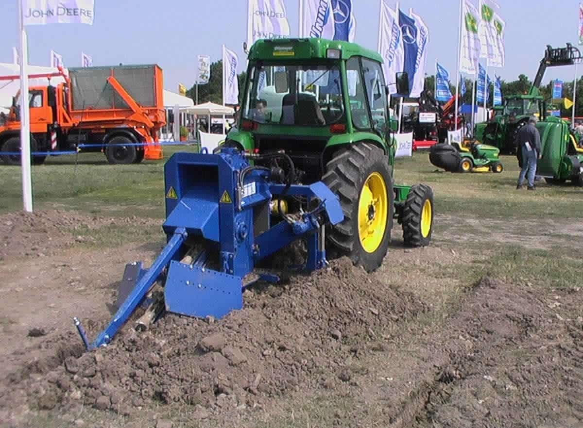 tractor milling machine GM 1-AF