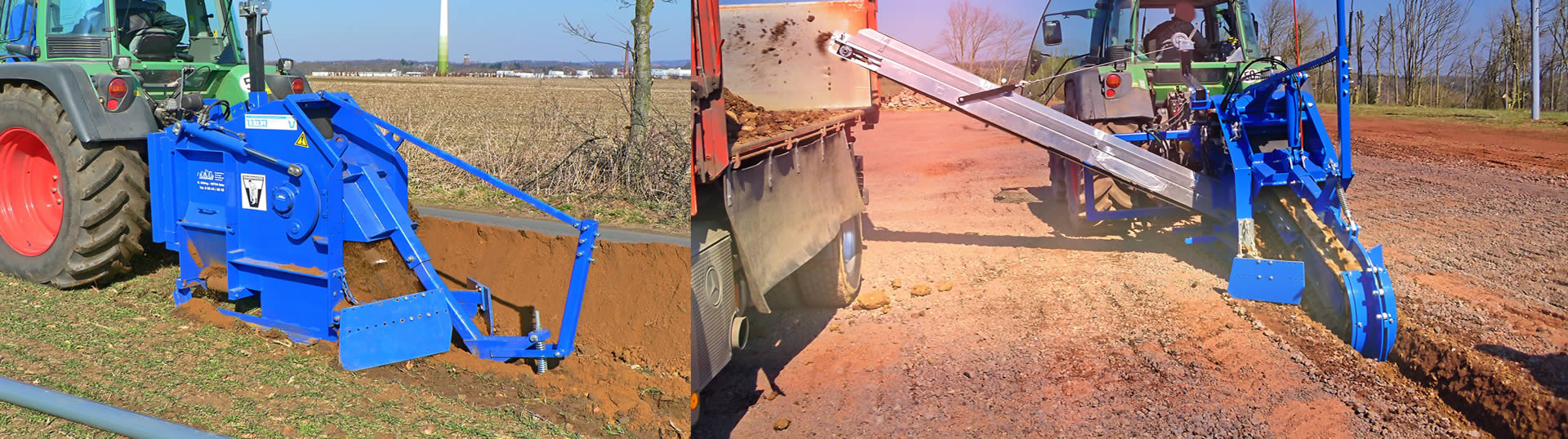 Prächtig LIBA – Grabenfräsen für Kabelbau, Landwirtschaft, Drainagen | Mit &JT_34